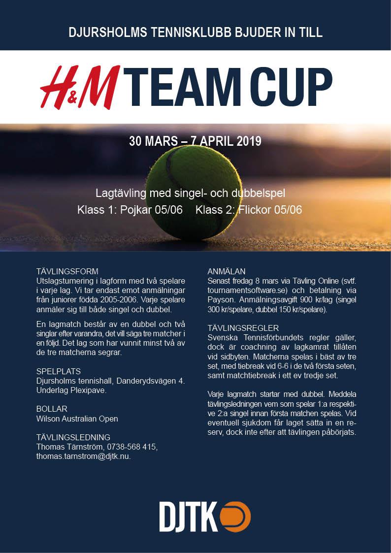 Affisch_H&M_Team Cup_2019_2