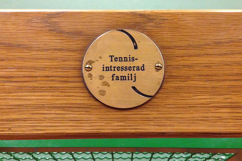 Undersida Medlem tennisintresserad familj