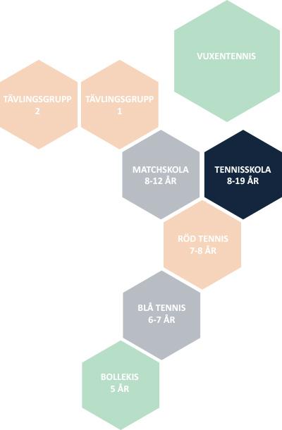 Tennisskola orgmoedell