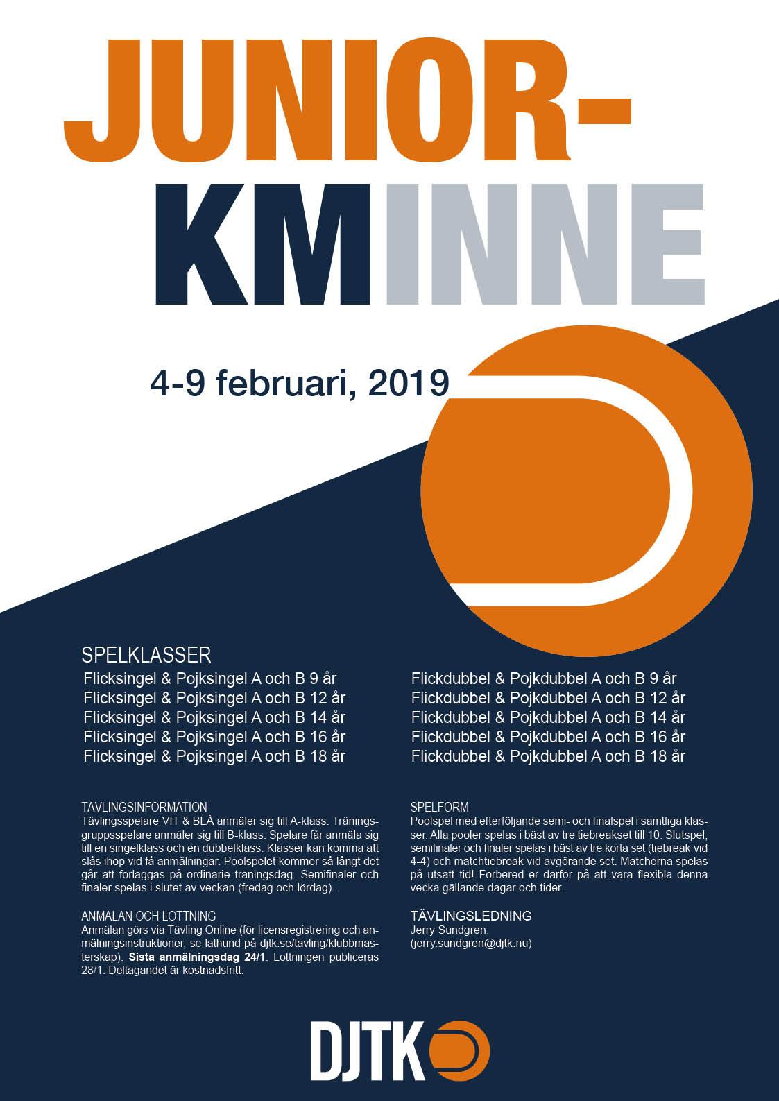 Affisch Junior KM 2019_ny